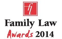 Family lawyers celebrate after Family Law Awards 2014