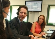 Justice Minister Jonathan Djanogly at the Co-operative Legal Services in Bristol - Photo Sussannah Binney