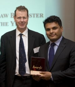 Teertha Gupta - Barrister Award