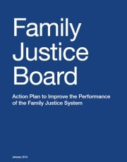 Family Justice Board Action Plan