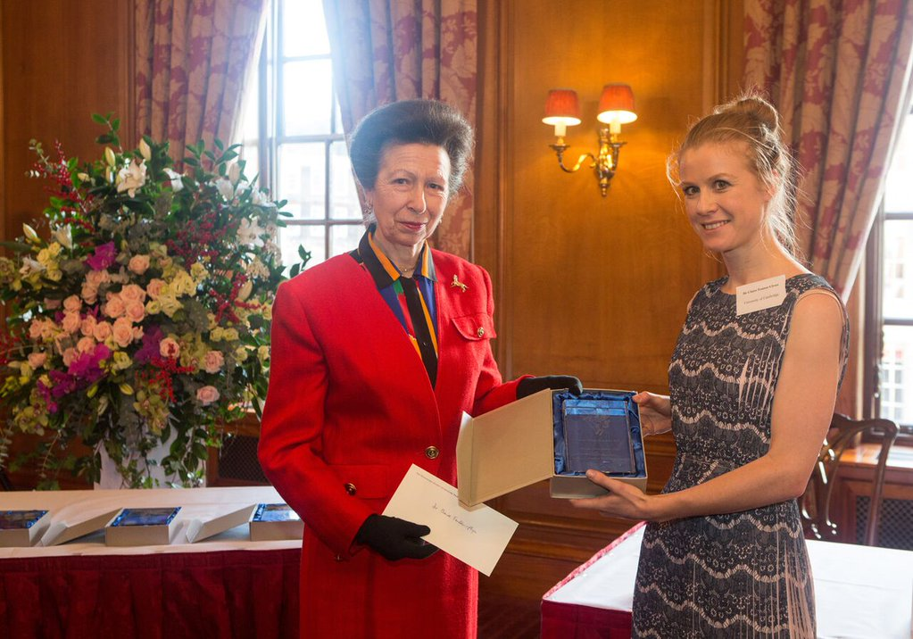 Claire Fenton-Glynn awared the 2015 Inner Temple New Author's Prize