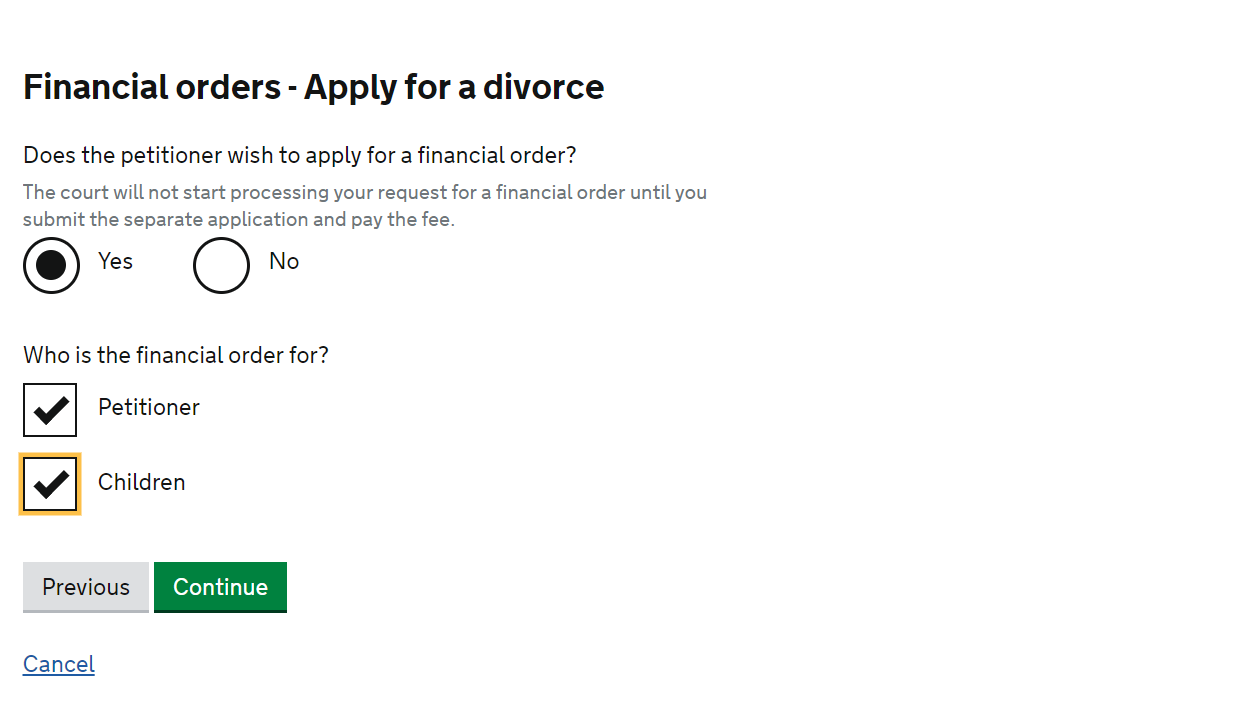 iFLG issues first online divorce petition