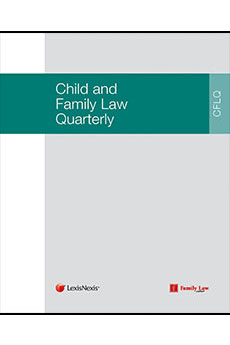 Child and Family Law Quarterly