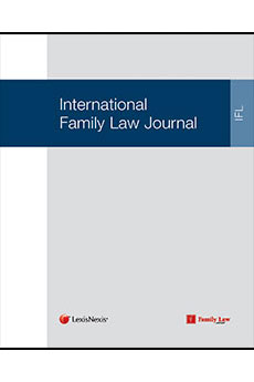 International Family Law Journal