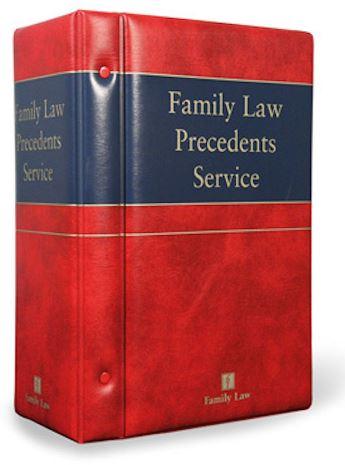 Family Law Precedents Service