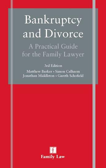 Bankruptcy and Divorce: A Practical Guide for the Family Lawyer