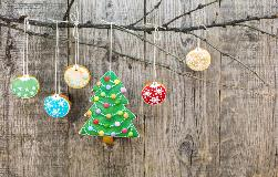 Christmas bubbles – the five days of Christmas