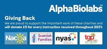 AlphaBiolabs launch Giving Back charity campaign