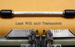 Virtual Witnessing of a Will